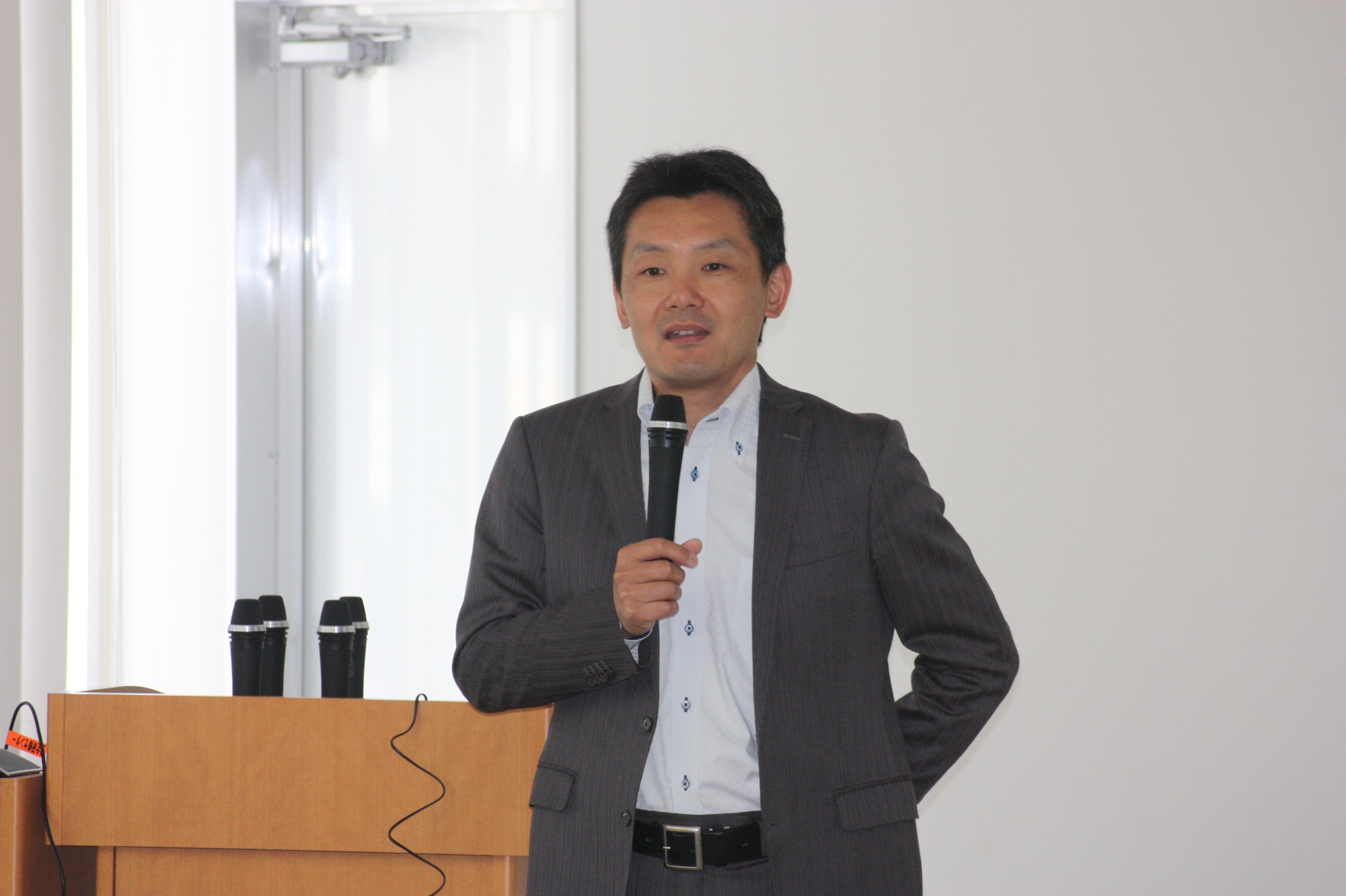 常石造船株式会社芦田琢磨董事