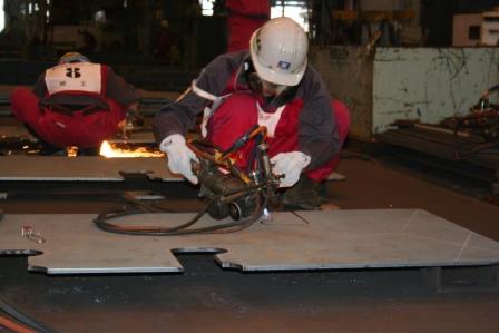 常石工厂:焊接比赛