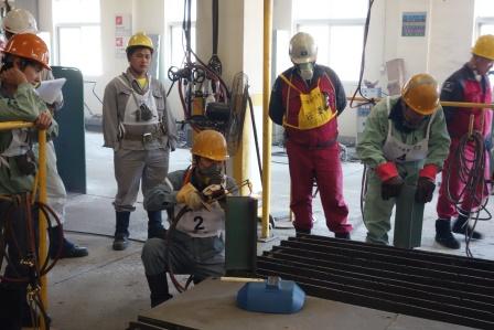 常石集团(舟山)造船有限公司:焊接比赛