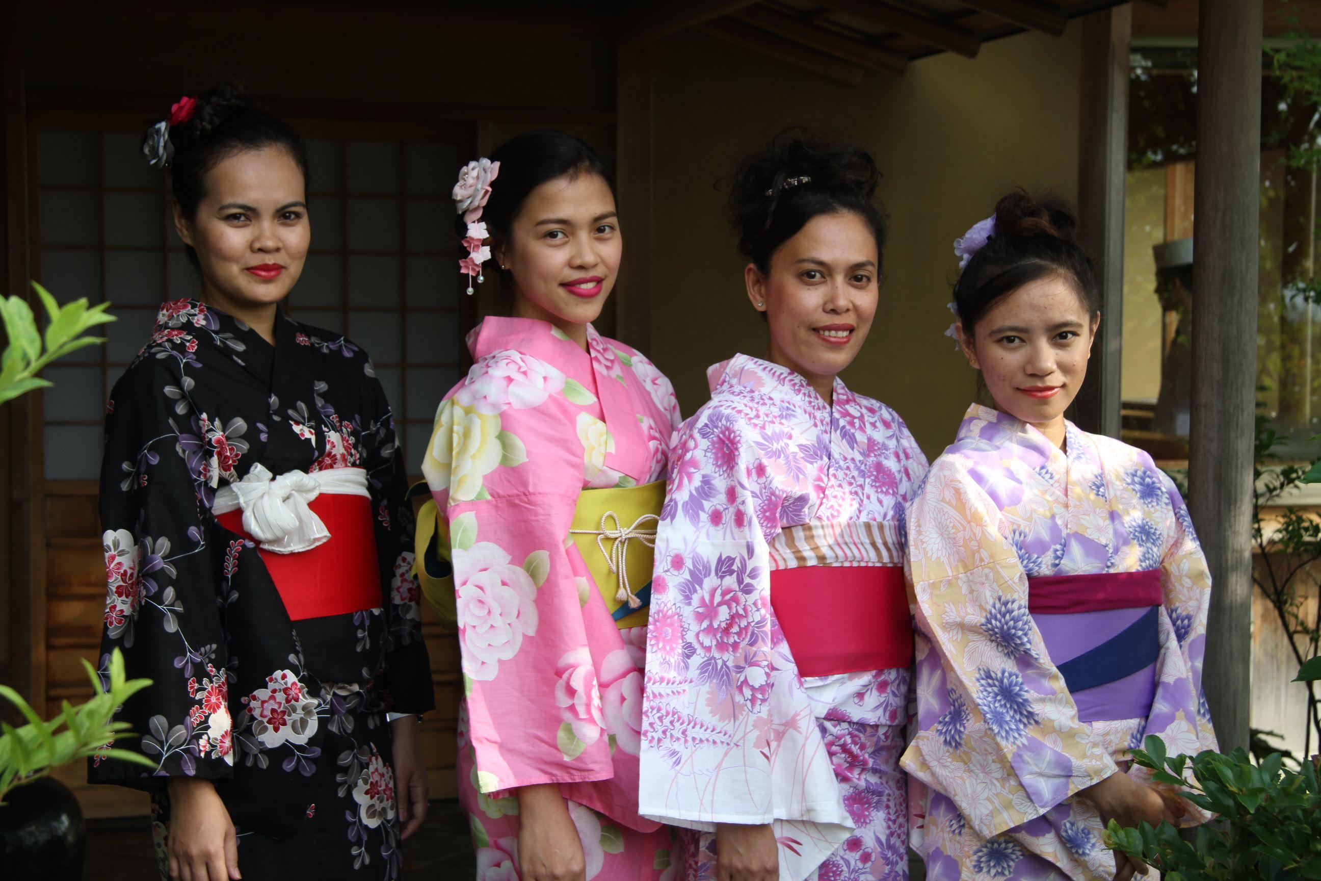 研修生体验日本文化
