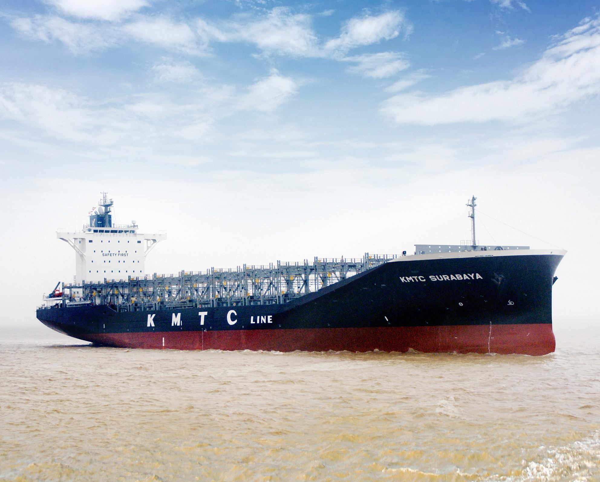 首艘新船型2,800TEU型集装箱船