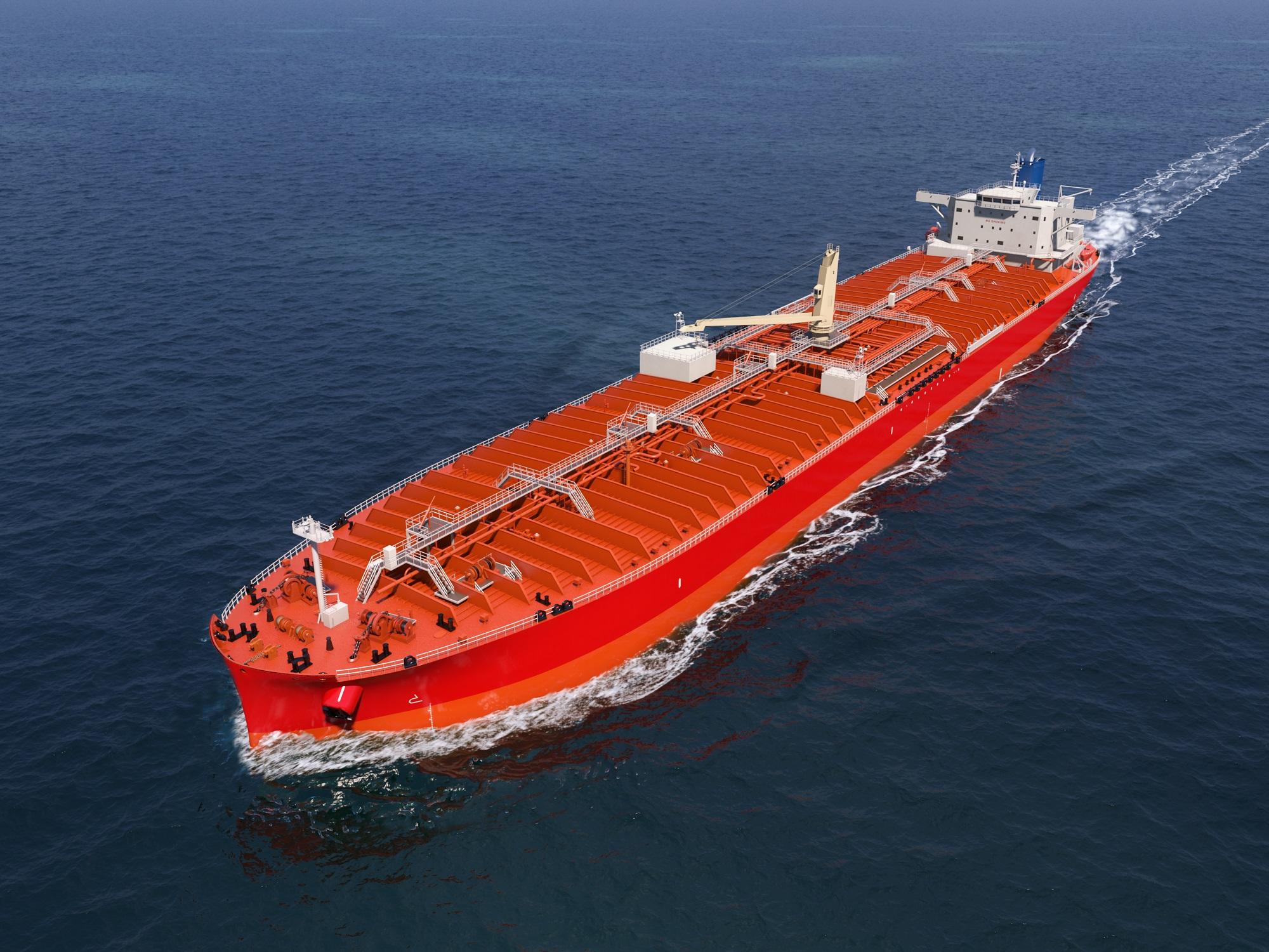 常石造船LRI油轮CG图