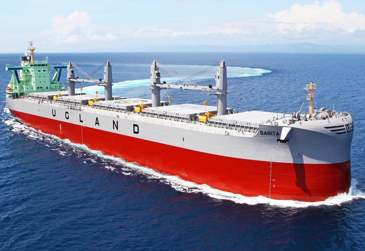 """TESS""系列累计竣工量达500艘的TESS64 AEROLINE实船"