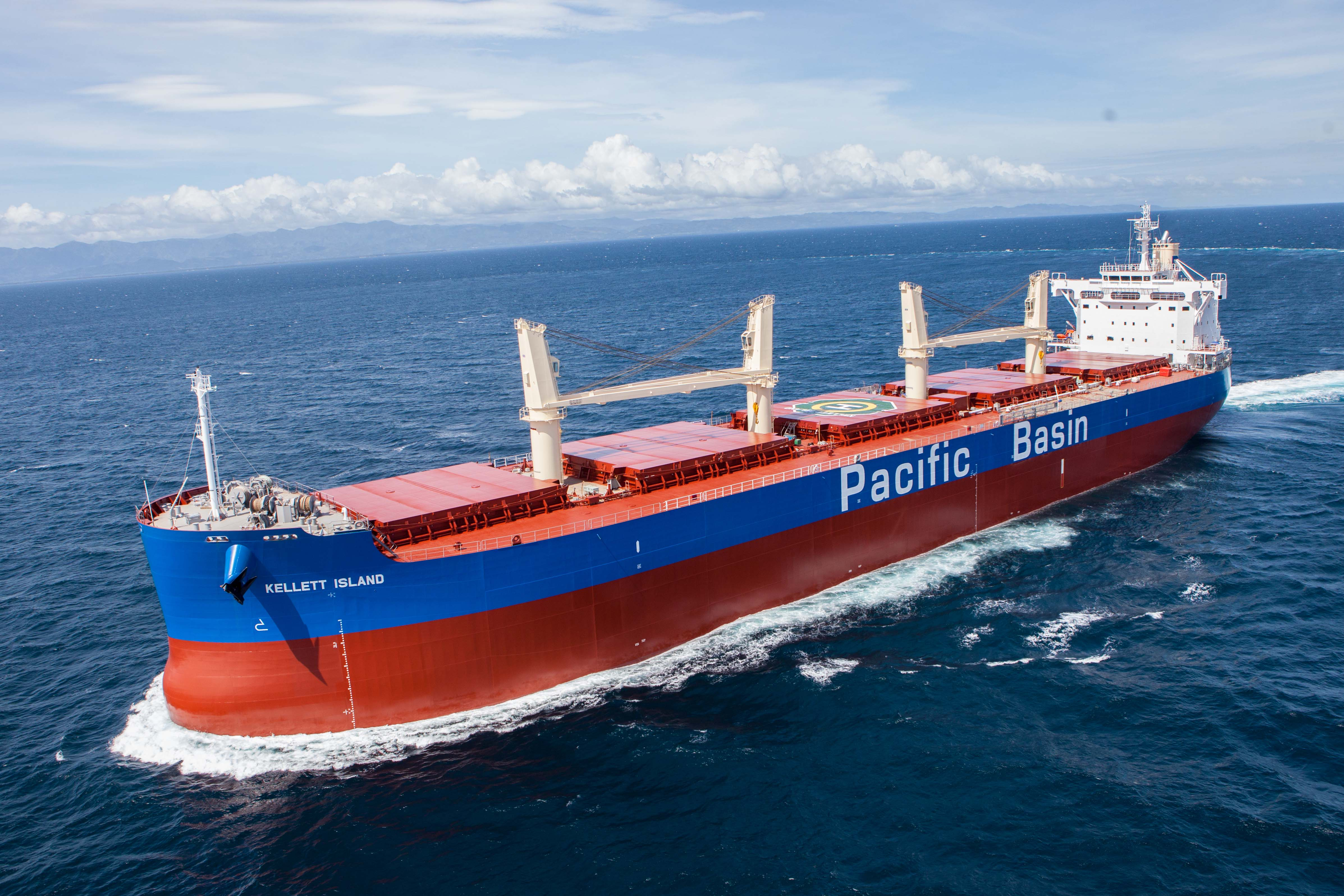 KELLETT ISLAND sea trial