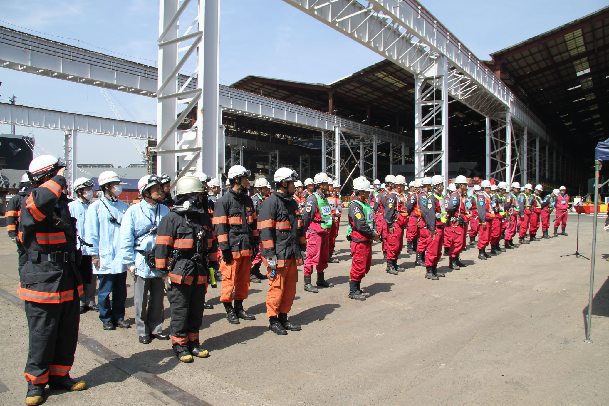 Drill completed