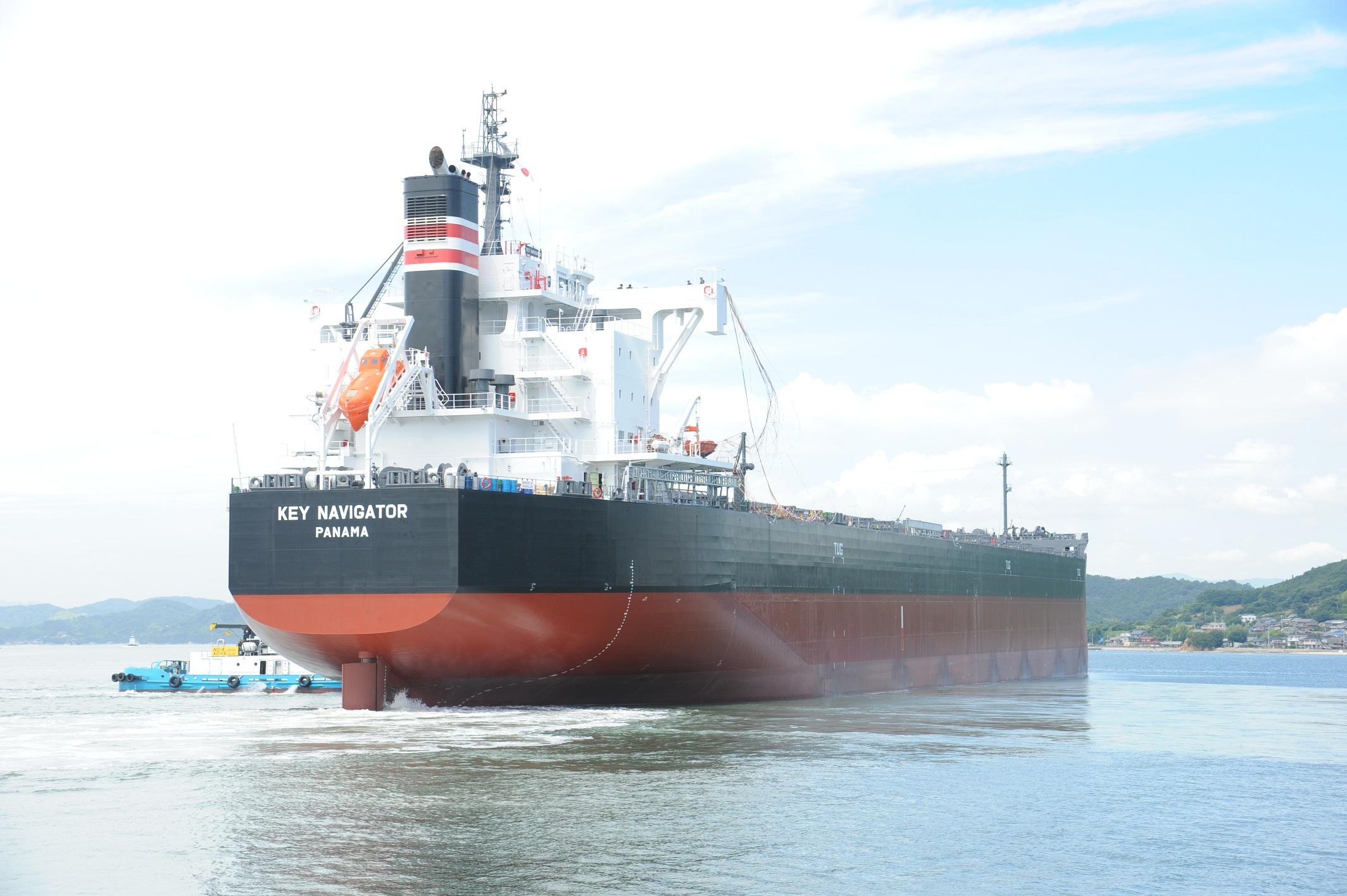 KEY NAVIGATOR set sail