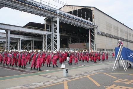 Tsuneishi Factory:Opening Ceremony