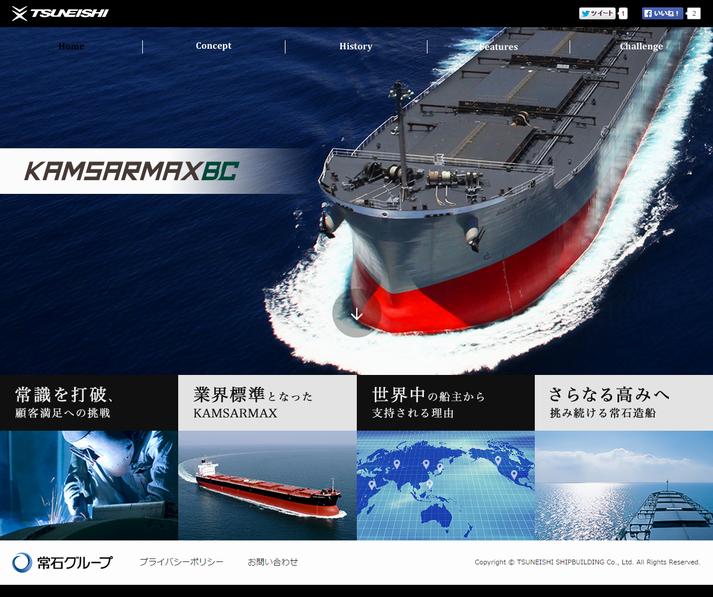 TSUNEISHI SHIPBUILDING KAMSARMAX PAGE