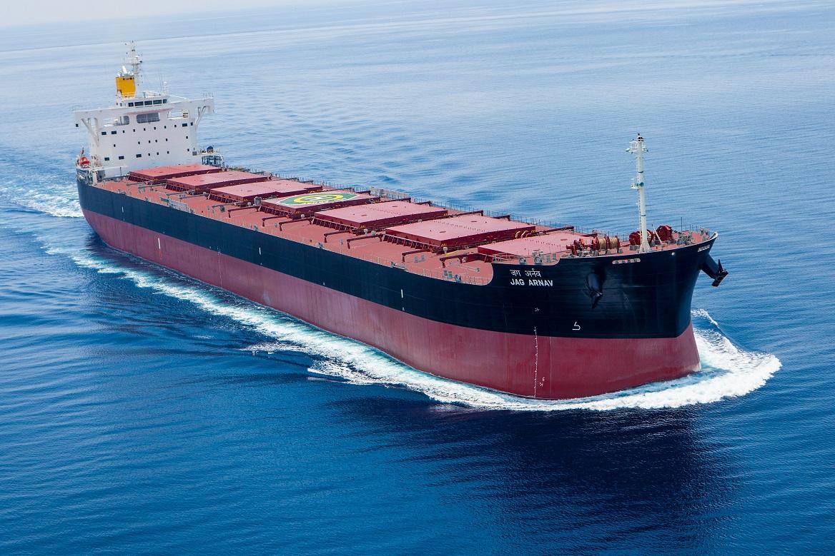 JAG ARNAV sea trial