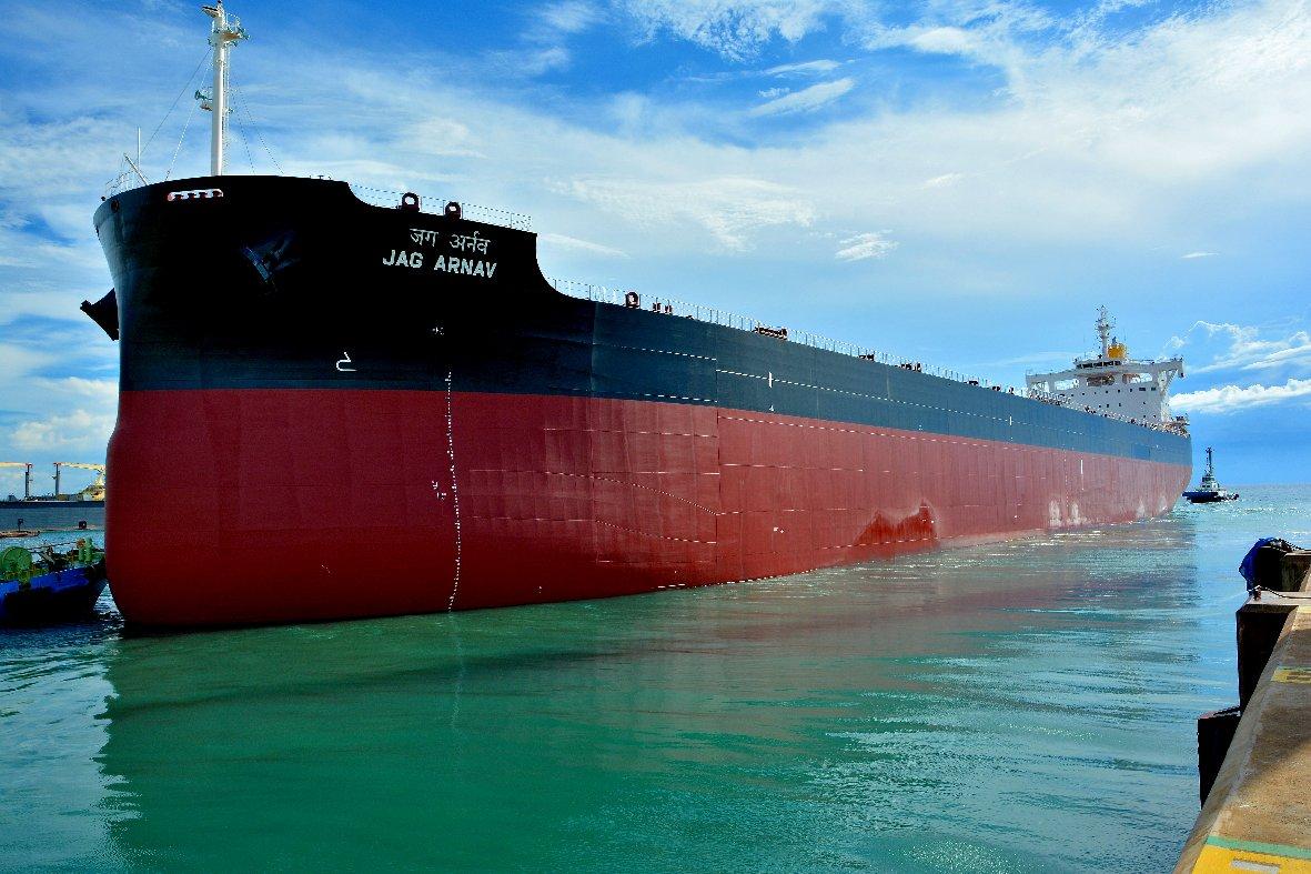 JAG ARNAV set sail