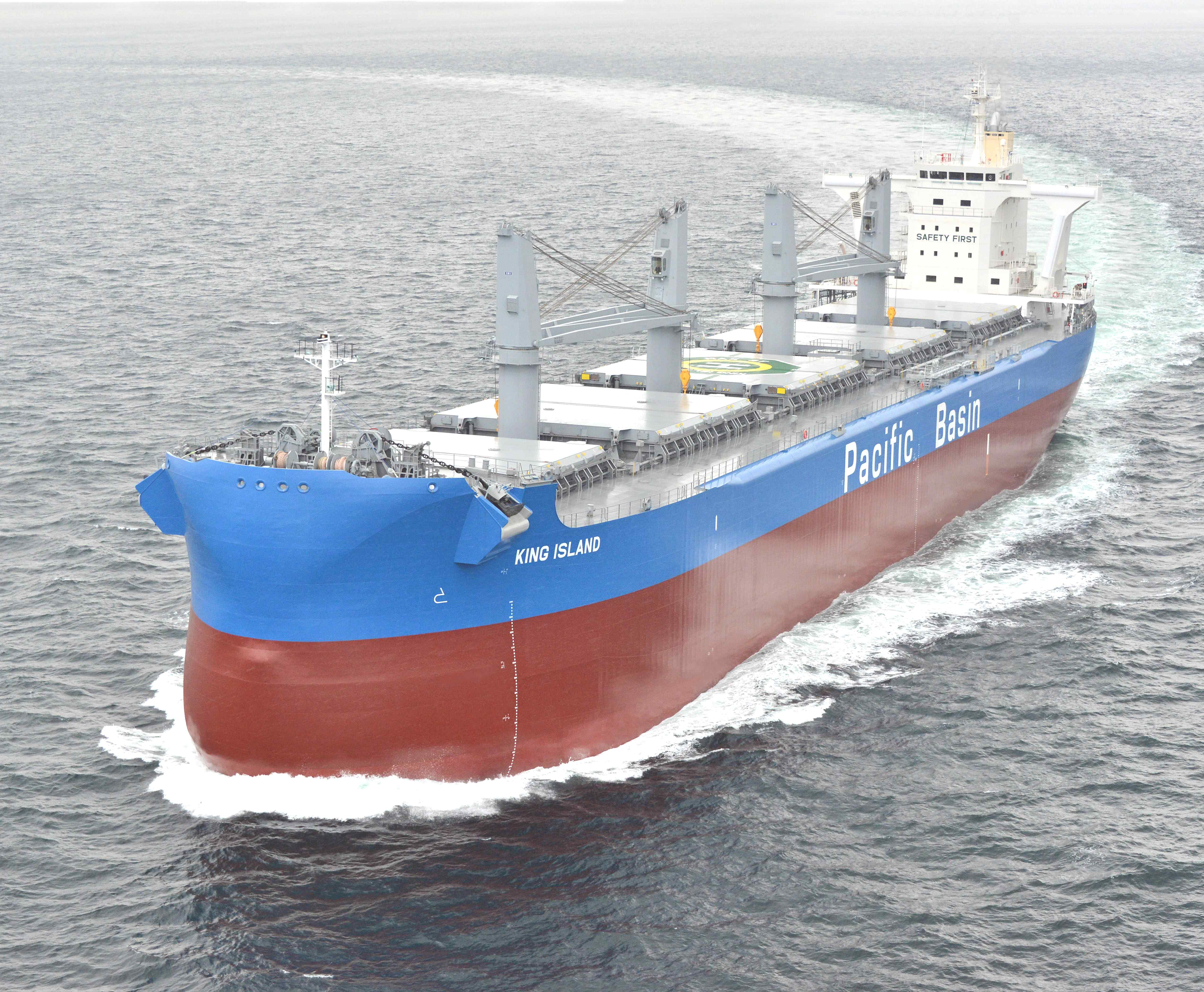 KING ISLAND sea trial