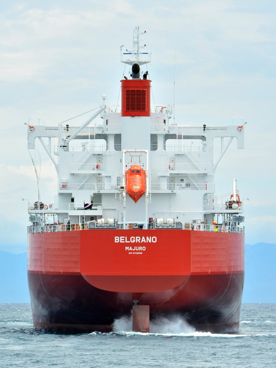 BELGRANO set sail
