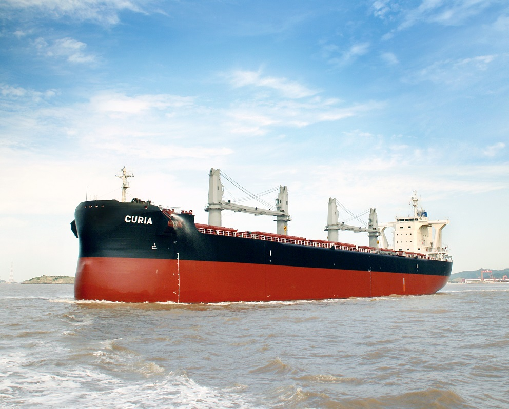 CURIA sea trial