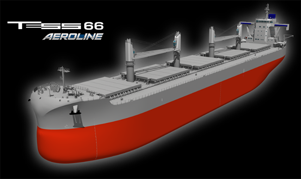 Information on new ship model TESS66 AEROLINE released on our website