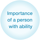 Importance of a person with ability