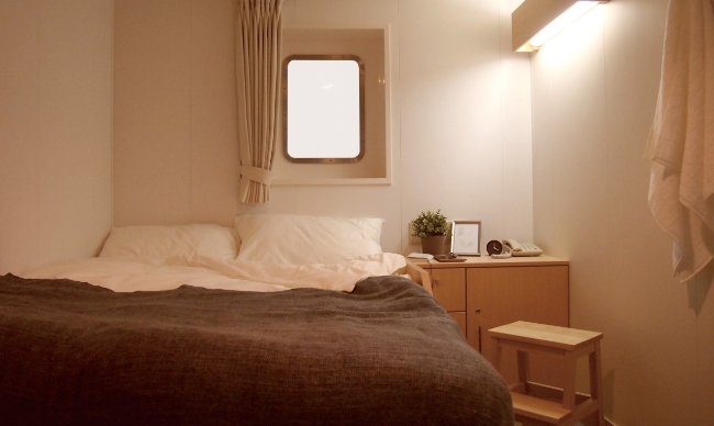 Comfortable accommodation space with high quality