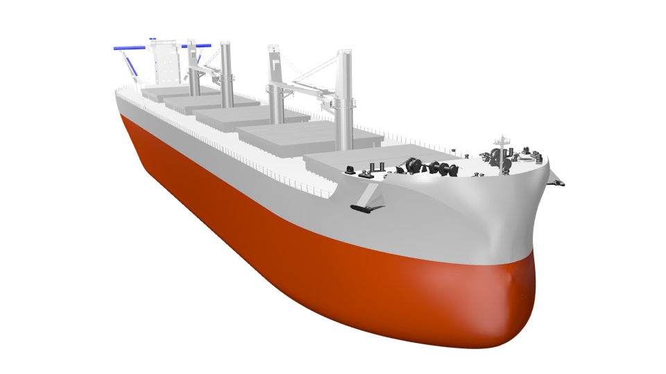 Tsuneishi release the TESS64 AEROLINE D/W 63,700mt type Bulk Carrier Equipped with reducing wind resistance and other new technologies to increase fuel efficiency by 20%