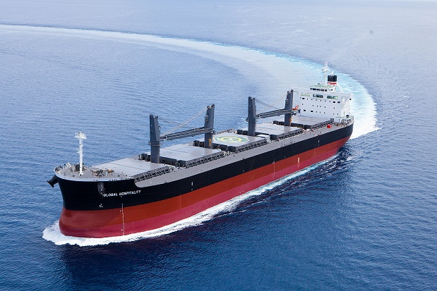 "Tsuneishi Heavy Industries (Cebu), Inc.,an Overseas Group Company of Tsuneishi Shipbuilding, Completes and Delivers the Group's 152nd ""TESS58"" Bulk Carrier"