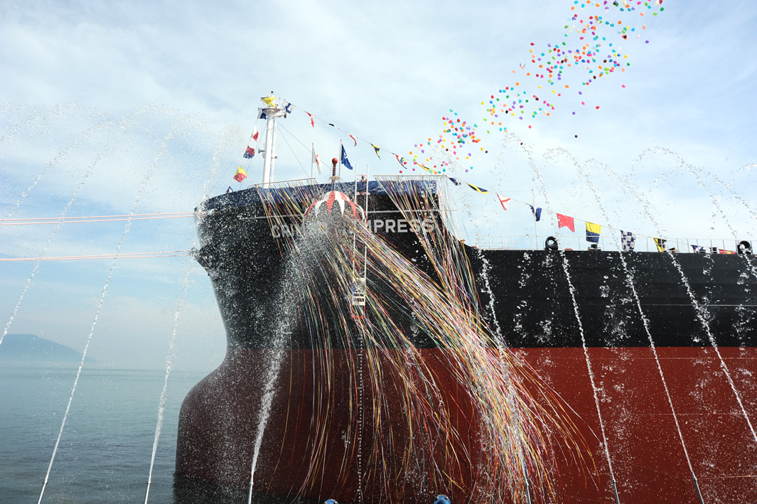 Completion of construction and delivery of the first 'TESS45BOX' bulk carrier new ship by Tsuneishi Group (Zhoushan) Shipbuilding Inc., a Tsuneishi Shipbuilding overseas group company