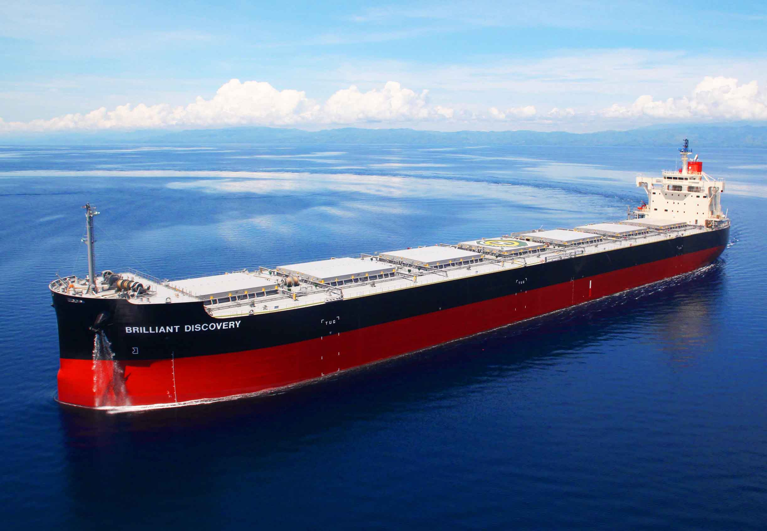 """TSUNEISHI HEAVY INDUSTRIES (CEBU), Inc.,an Overseas Group Company of TSUNEISHI SHIPBUILDING, Completes and Delivers the Group's 193rd """"KAMSARMAX"""" Bulk Carrier"""