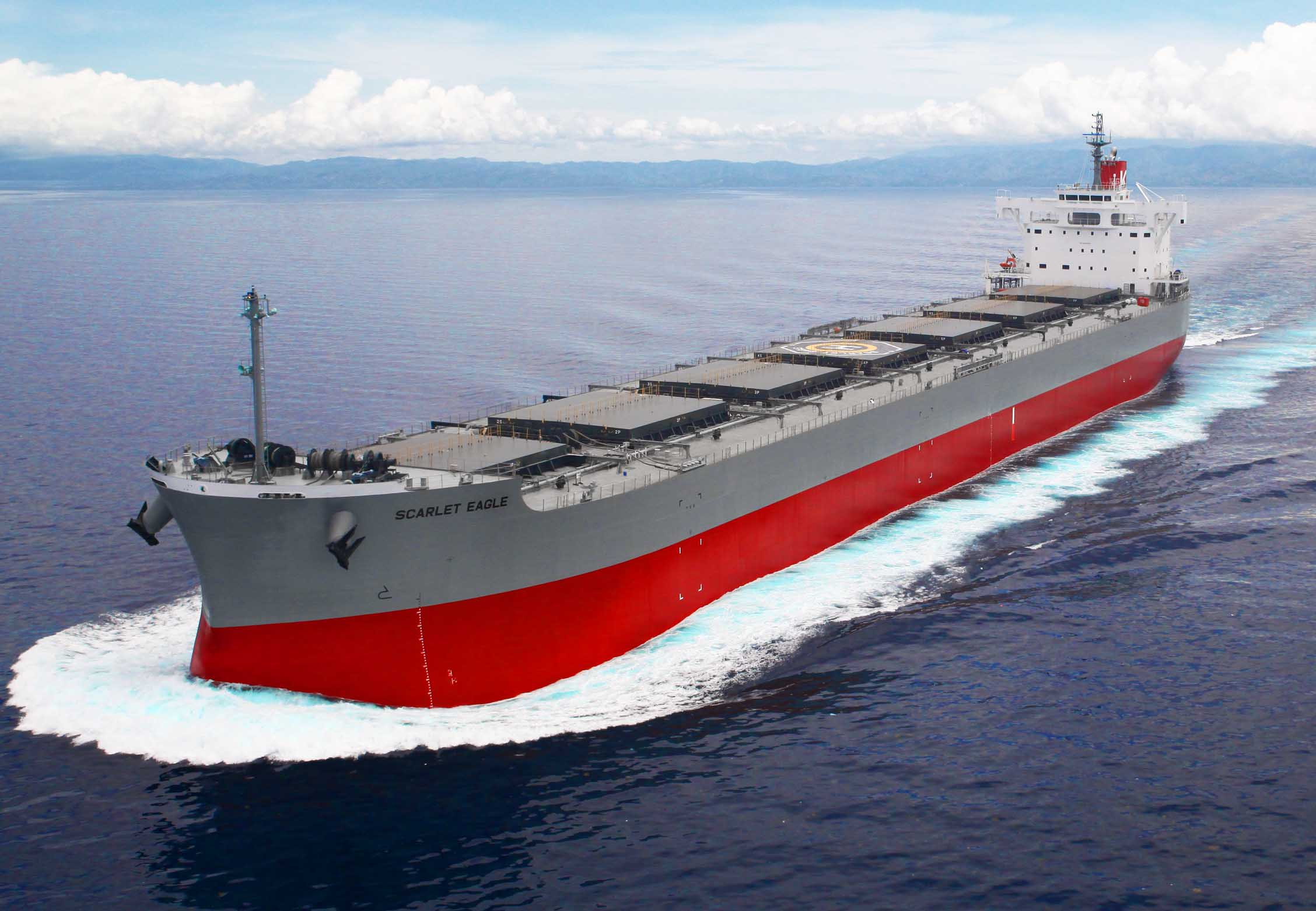 """TSUNEISHI HEAVY INDUSTRIES (CEBU), Inc.,an Overseas Group Company of TSUNEISHI SHIPBUILDING, Completes and Delivers the Group's 194th""""KAMSARMAX"""" Bulk Carrier"""