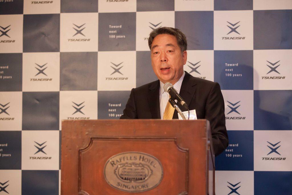 河野健二社長のスピーチ