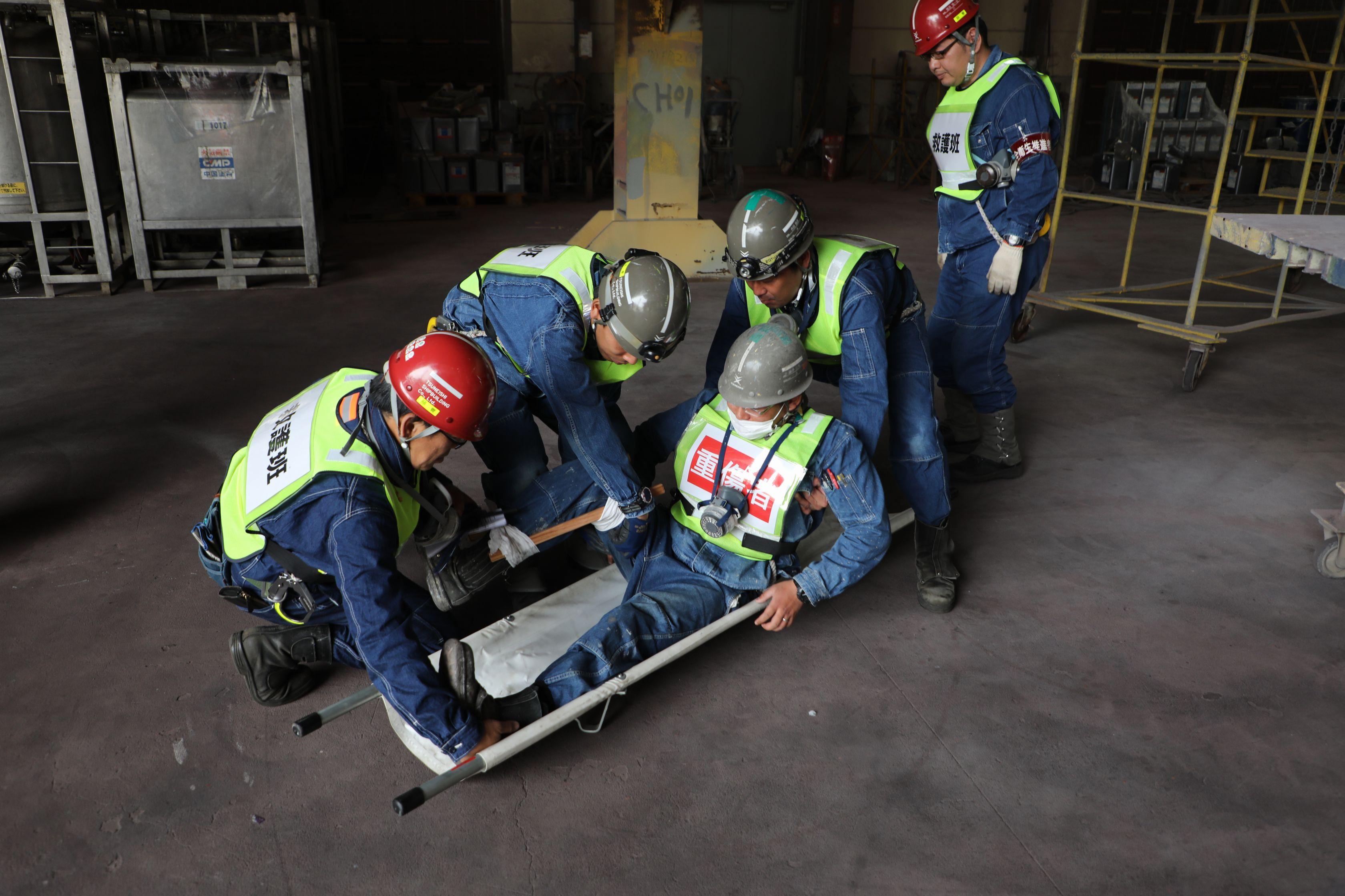 重傷者の救護