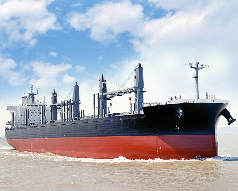 """4万2,000トン型ばら積み貨物船 """"TESS42""""の1番船を竣工"""